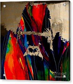 Ape Acrylic Print by Marvin Blaine