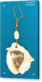 Aphrodite Earring Acrylic Print by Augusta Stylianou