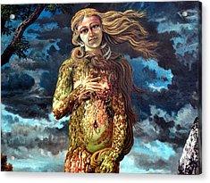 Aphrodite-venus Acrylic Print by Genio GgXpress