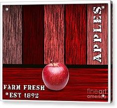 Apple Farm Acrylic Print