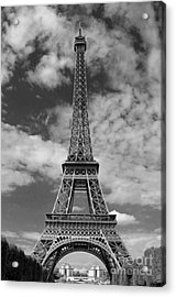 Architectural Standout Bw Acrylic Print