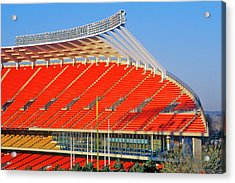 Arrowhead Stadium, Home Of The Kansas Acrylic Print