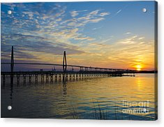 Acrylic Print featuring the photograph Magical Blue Skies by Dale Powell