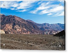 Artist Drive Death Valley National Park Acrylic Print