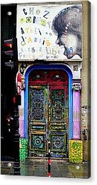Artistic Door In Paris France Acrylic Print