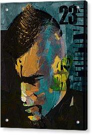 Arturo Vidal Acrylic Print