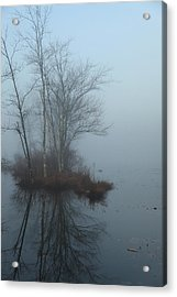 As The Fog Lifts Acrylic Print by Karol Livote