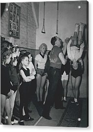 Aspiring Acrobats Acrylic Print by Retro Images Archive