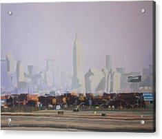 At A Distance Acrylic Print by Harvey Rogosin