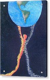 Atlas Acrylic Print by Steve  Hester