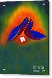 Acrylic Print featuring the digital art Attuned by Latha Gokuldas Panicker