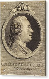 Augustin De Saint-aubin After Charles-nicolas Cochin II Acrylic Print by Quint Lox