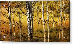 Autumn Sonata Acrylic Print by Theresa Tahara
