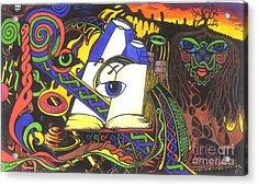 Awakening  Acrylic Print by Anthony Hodgson