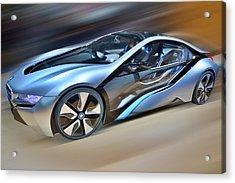 B M W  Edrive I8  Concept  2014 Acrylic Print