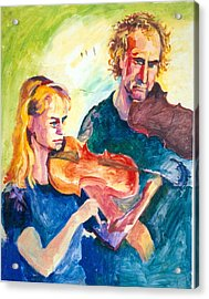B02. Duet Players Acrylic Print