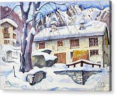 B02  Ticino Ch Acrylic Print