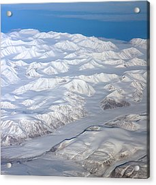 Baffin Island In The Arctic Northern Canada Acrylic Print