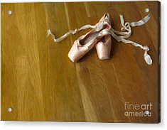 Ballet Slippers Acrylic Print by Diane Diederich