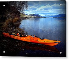 Acrylic Print featuring the photograph Banburrygreen by Guy Hoffman