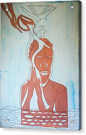 Baptism Of The Lord Jesus Acrylic Print by Gloria Ssali