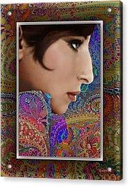 Barbra Acrylic Print