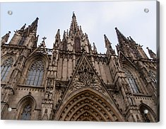 Barcelona - The Cathedral  Acrylic Print