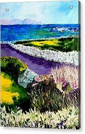 Barna Galway Bay Ireland Acrylic Print