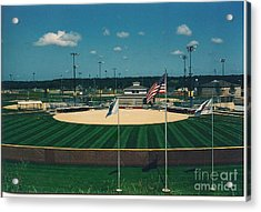 Baseball Diamond Acrylic Print