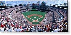 Baseball Stadium, Texas Rangers V Acrylic Print by Panoramic Images