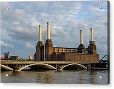 Battersea Power Station Acrylic Print