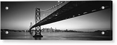 Bay Bridge San Francisco Ca Usa Acrylic Print