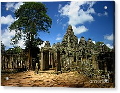 Bayon Temple View From The East Acrylic Print