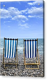 Beach Chairs Acrylic Print by Joana Kruse