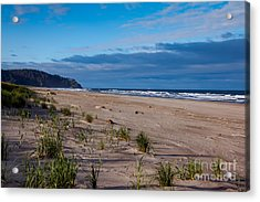 Beach View Acrylic Print by Robert Bales