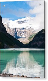 Acrylic Print featuring the photograph Beautiful Lake Louise by Cheryl Baxter