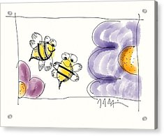 2 Bee Or Not To Bee Acrylic Print