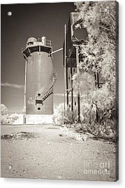 Beresford Siding Outback Australia Acrylic Print by Colin and Linda McKie