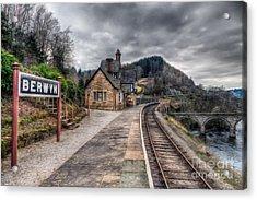 Berwyn Railway Station Acrylic Print