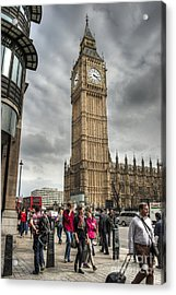 Big Ben London Acrylic Print by Donald Davis