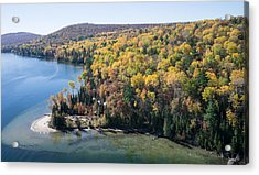 Big Cedar Lake. Quebec Acrylic Print by Rob Huntley