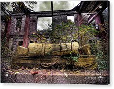 Big Comfy Couch Acrylic Print by Amy Cicconi