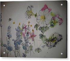 Big Garden Album Acrylic Print