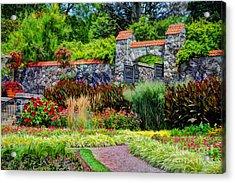 Biltmore Gardens Acrylic Print by Savannah Gibbs