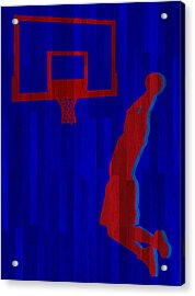 Blake Griffin Los Angeles Clippers Acrylic Print by Joe Hamilton