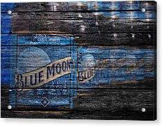 Blue Moon Acrylic Print by Joe Hamilton