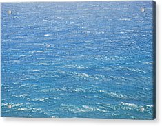 Acrylic Print featuring the photograph Blue Waters by George Katechis