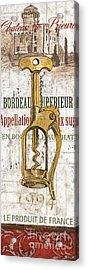 Bordeaux Blanc 2 Acrylic Print