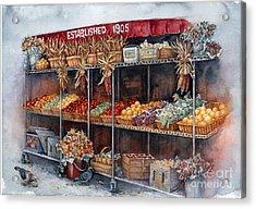 Boston Market Acrylic Print