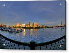 Boston Skyline From Memorial Drive Acrylic Print by Joann Vitali